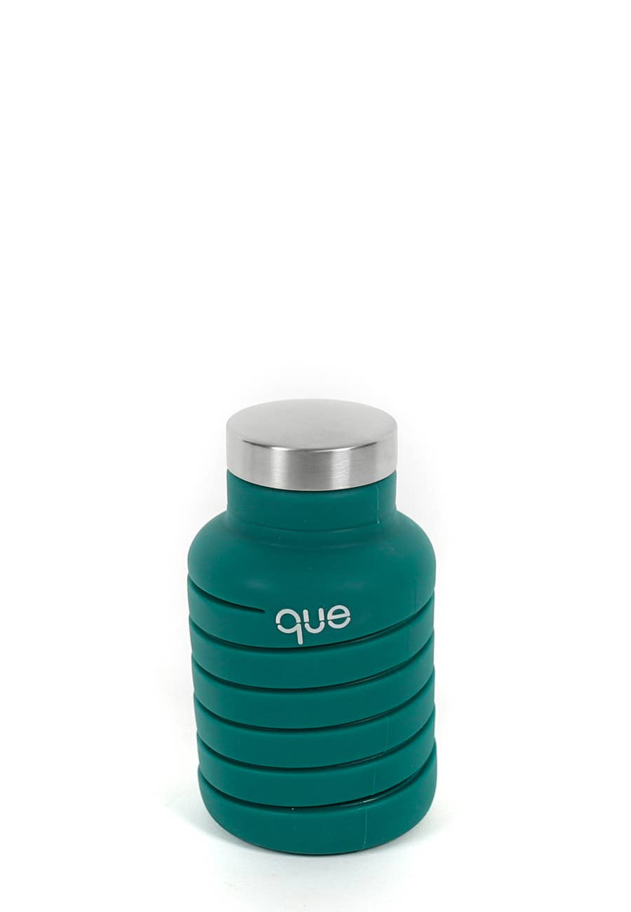 Que Bottle - Forest Green Que Bottle 20oz - Organ Mountain Outfitters