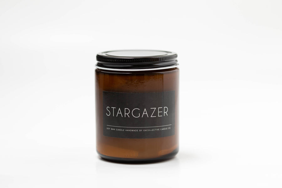 OKcollective Candle Co. - Candle // Stargazer 8oz - Organ Mountain Outfitters