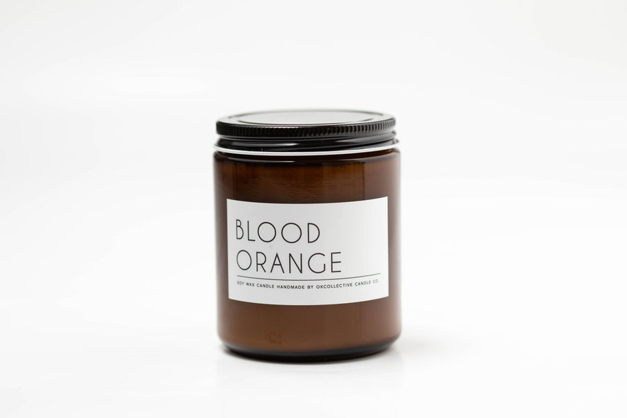 OKcollective Candle Co. - Candle // Blood Orange 8oz - Organ Mountain Outfitters