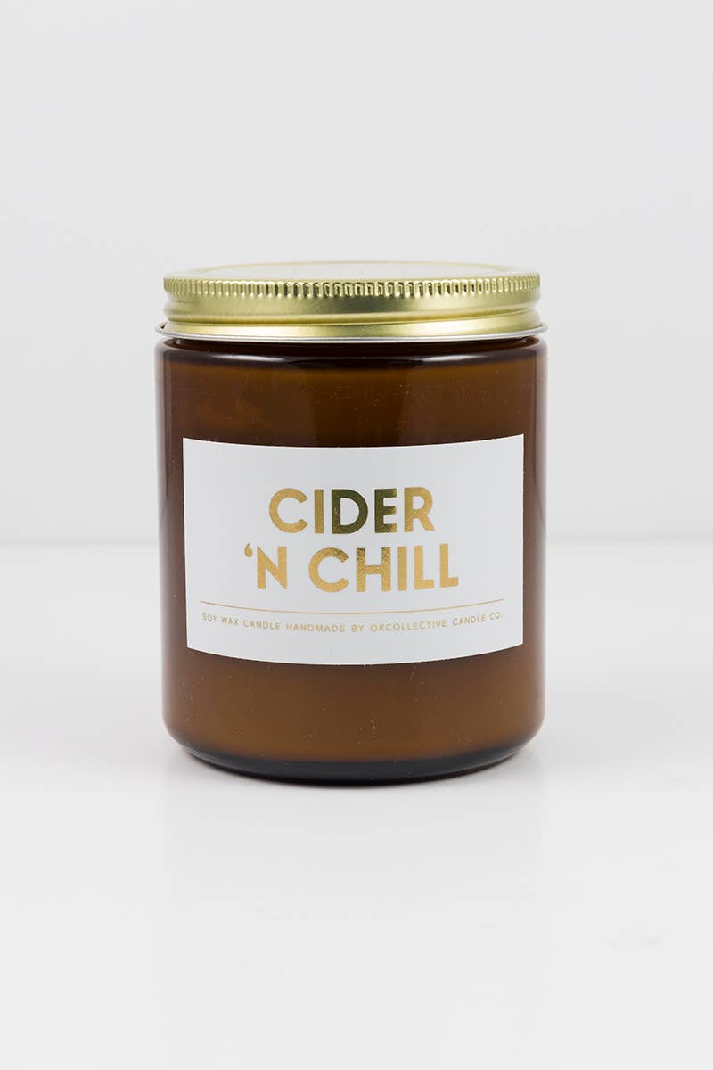 OKcollective Candle Co. - Holiday Candle // Cider 'N Chill 8oz - Organ Mountain Outfitters