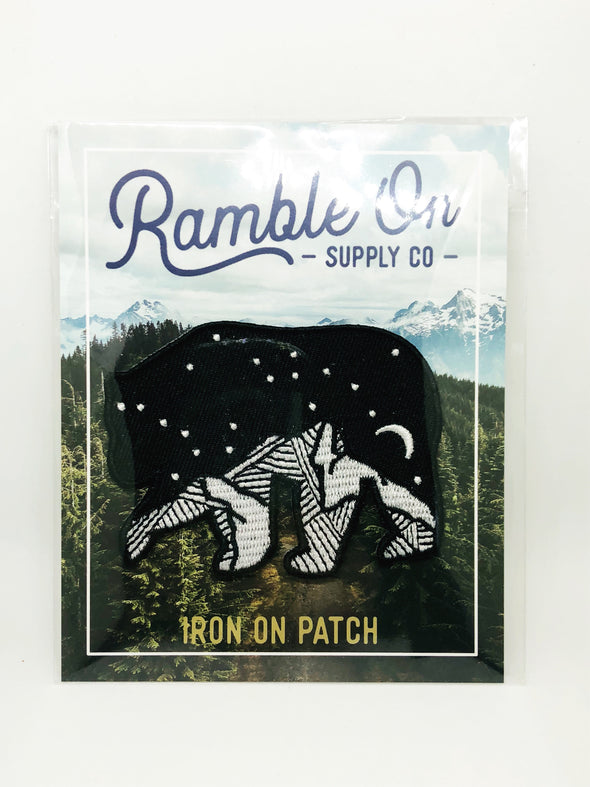 Ramble On Supply Co - Starry Night Bear Patch