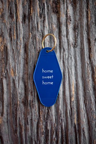 He said, She said - Home Sweet Home Motel Key Tag - Organ Mountain Outfitters