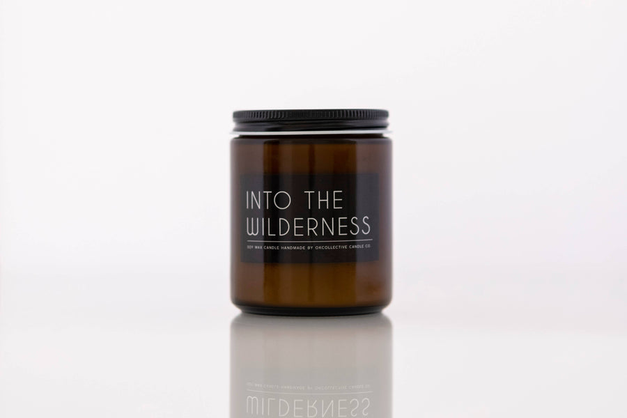 OKcollective Candle Co. - Candle // Into the Wilderness 8oz - Organ Mountain Outfitters