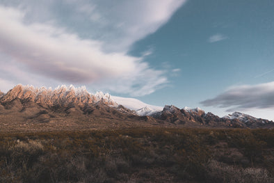 Photography: Dusted Mountain Tops - Organ Mountain Outfitters
