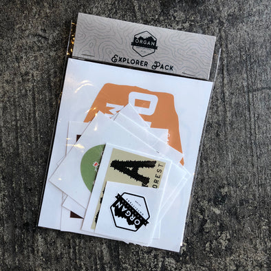 Explorer Sticker Pack - Organ Mountain Outfitters