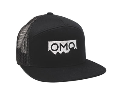 OMO Off Road 7 Panel Trucker Cap