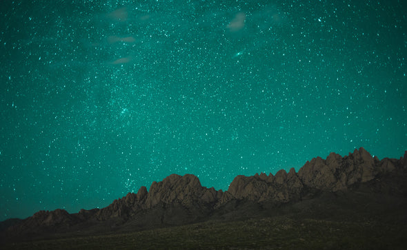 Photography: Stars Over the Organ Mountains