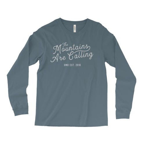 The Mountains Are Calling - Long Sleeve