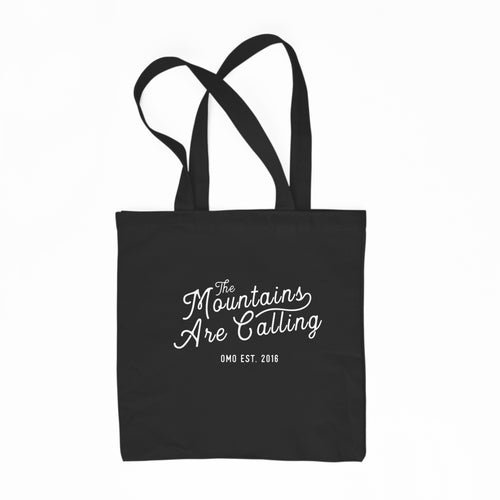 Tote Bag - The Mountains Are Calling