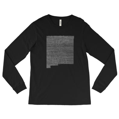 New Mexico Mountain Range Long Sleeve Tee
