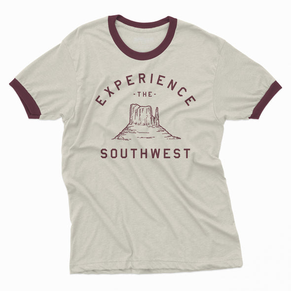 Experience the Southwest - Ringer Tee
