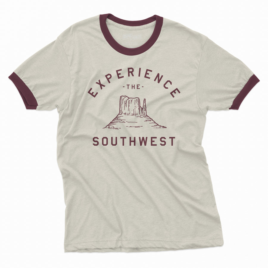 Experience the Southwest - Ringer Tee - Organ Mountain Outfitters