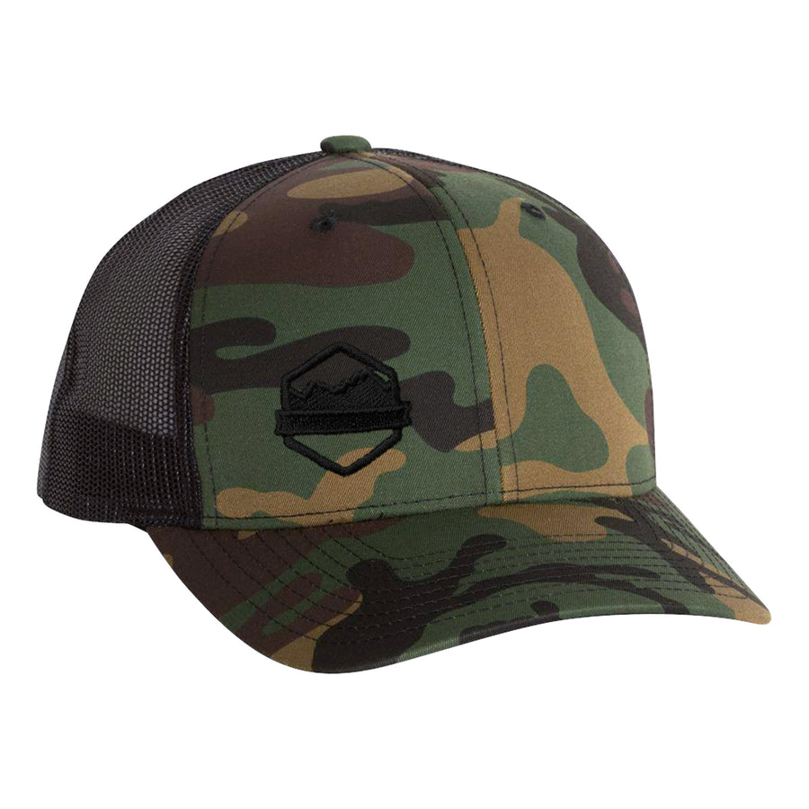 Logo Retro Trucker Cap - Organ Mountain Outfitters