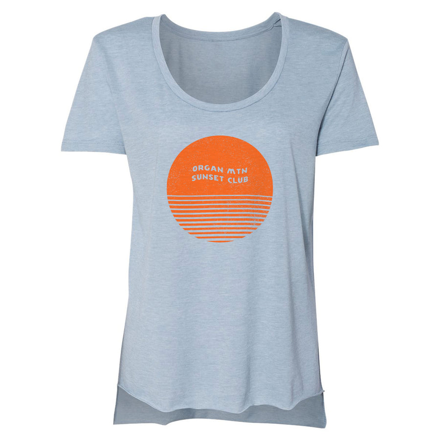 Women's Sunset Club Scoopneck Tee - Organ Mountain Outfitters
