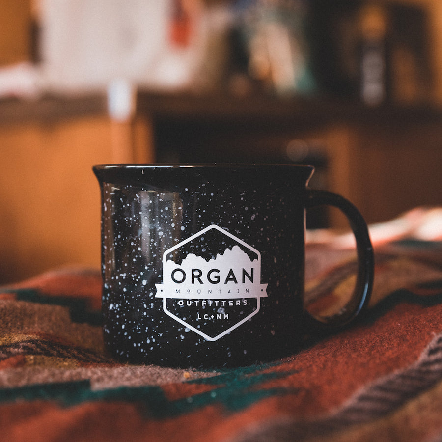 OMO Ceramic Mug - Speckled - 15 oz. - Organ Mountain Outfitters