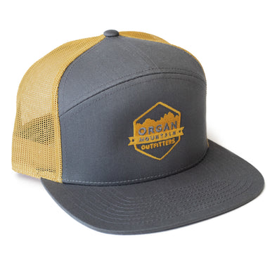 Organ Mountain 7 Panel Trucker Cap