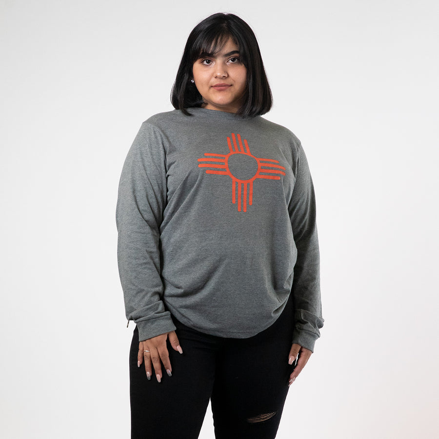 Zia Sun Symbol Long Sleeve Tee - Organ Mountain Outfitters