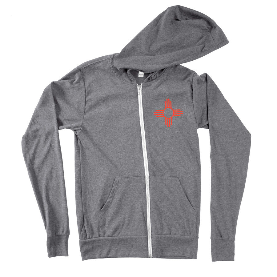 Zia Lightweight Zip-Up Hoodie - Organ Mountain Outfitters