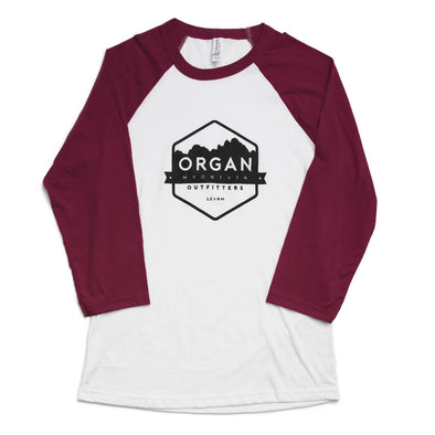 Organ Mountain Baseball Tee