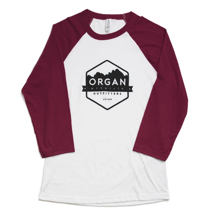 Organ Mountain Baseball Tee - Organ Mountain Outfitters