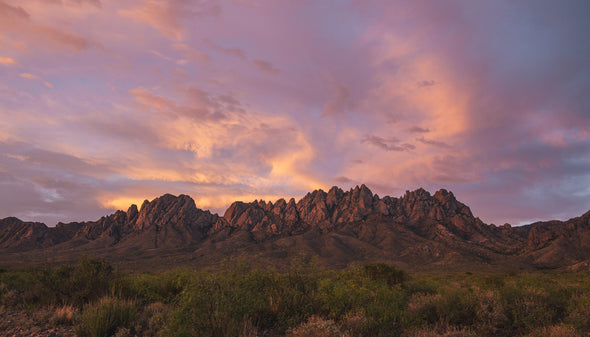 Photography: Organ Mountain Spring Sunset
