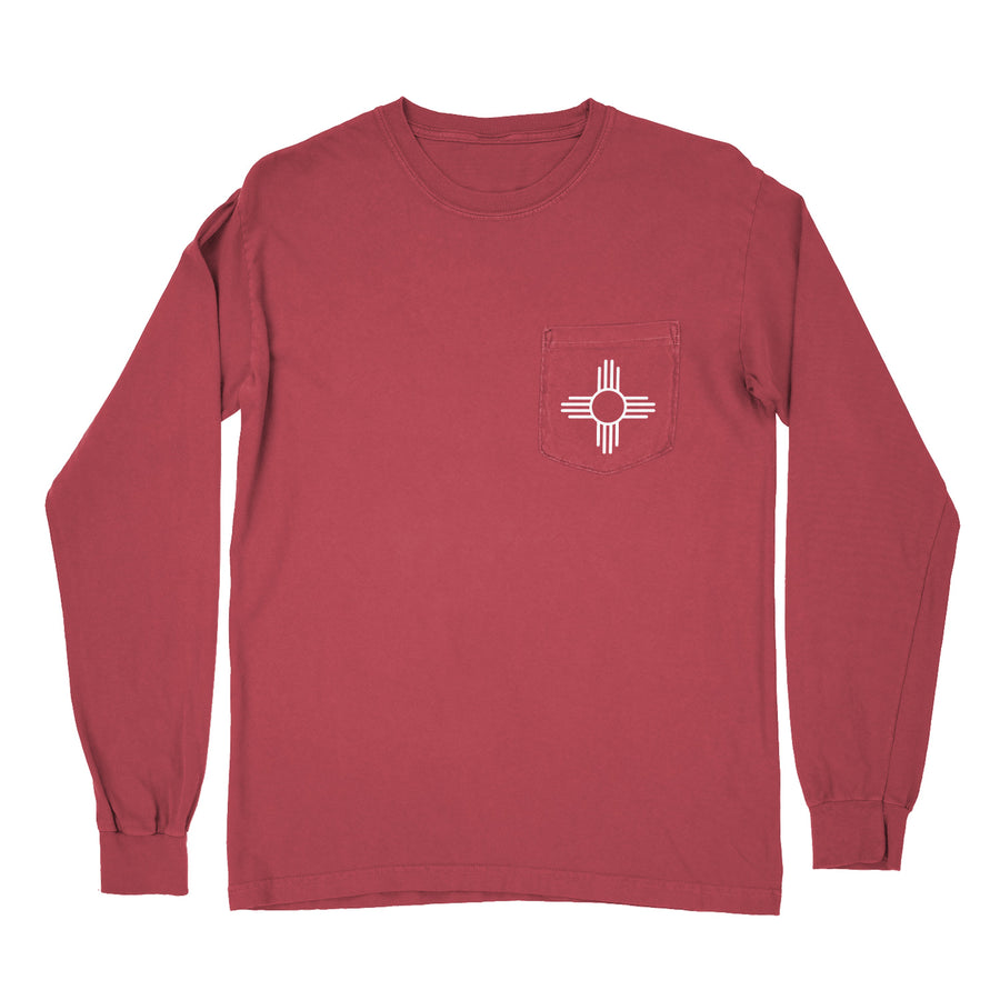 Heavyweight Zia Long Sleeve Pocket T-Shirt - Organ Mountain Outfitters