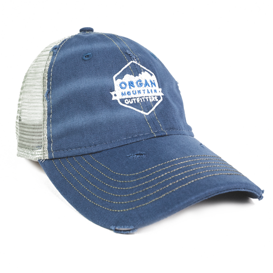 Organ Mountain - Dirty-Washed Mesh Cap - Organ Mountain Outfitters