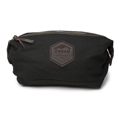 Organ Mountain Leather & Canvas Travel Kit