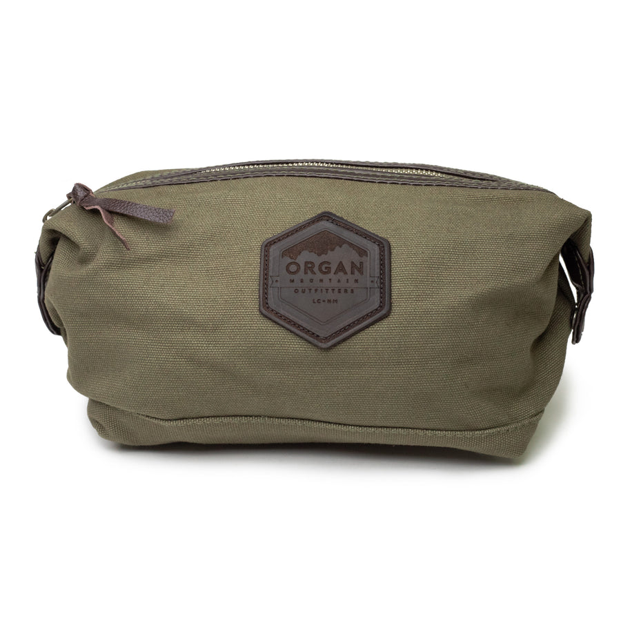 Organ Mountain Leather & Canvas Travel Kit - Organ Mountain Outfitters
