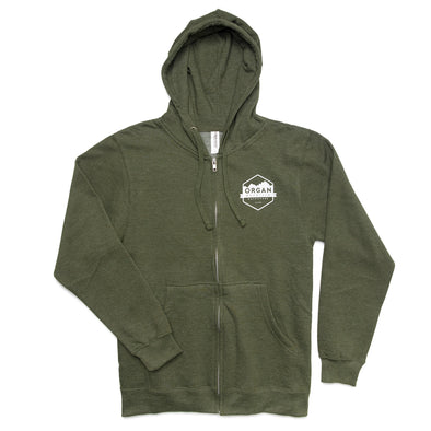 Organ Mountain Midweight Zip-Up Hoodie