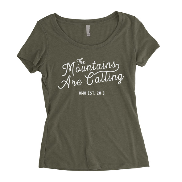 Women's Mountains Are Calling Slouchy T-Shirt