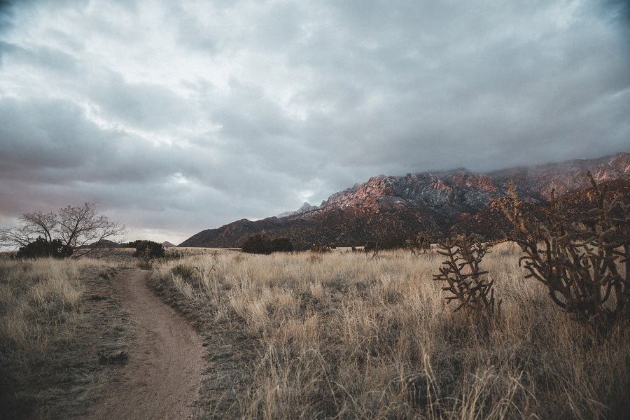Photography: Sandia Mountains Sunset - Organ Mountain Outfitters
