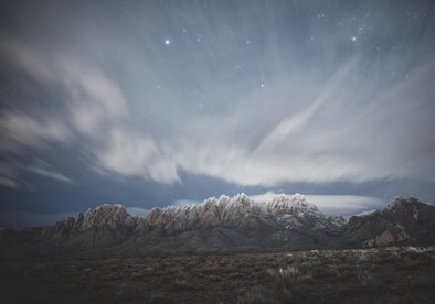 Photography: Frosted Peaks of the Organ Mountains