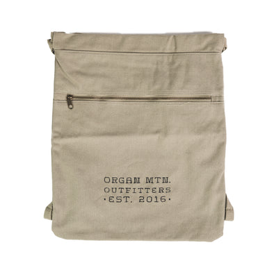 Organ Mountain Canvas Cinch Sack