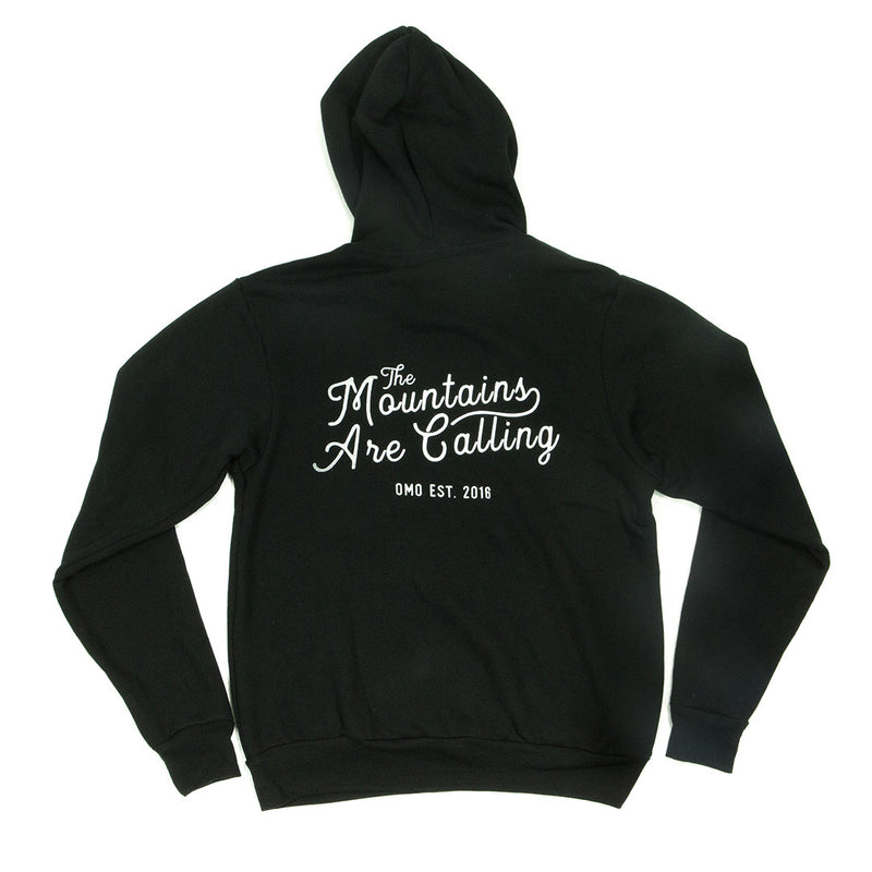 Pullover Hoodie - The Mountains Are Calling