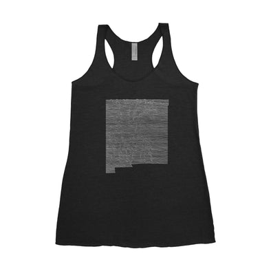 Women's New Mexico Mountain Range Tank
