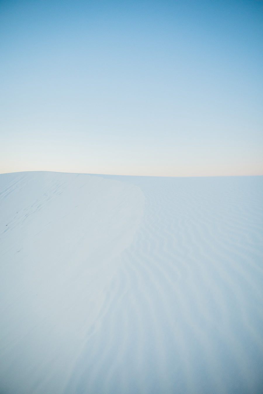 Photography: White Sands Open Sky - Organ Mountain Outfitters
