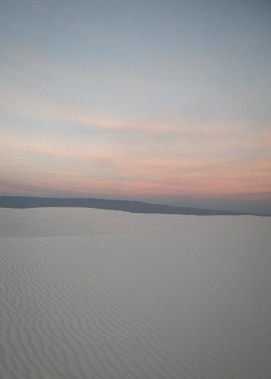 Photography: White Sands Sunset