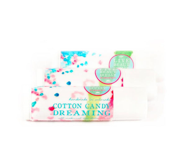 Live Beautifully - Cotton Candy Dreaming Mini Lip Balm Tube