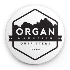 Classic Logo Round Button - Organ Mountain Outfitters