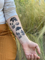 NatureTats - Forest Forage Temporary Tattoo - Organ Mountain Outfitters