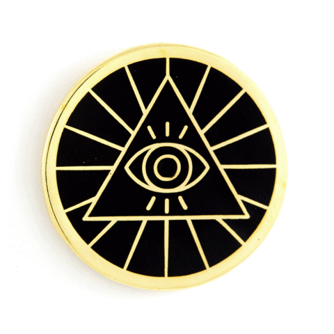 These Are Things - Enamel Pins - Illuminati Pin