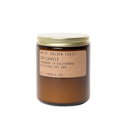 P.F. Candle Co. - Golden Coast - 7.2 oz Standard Soy Candle - Organ Mountain Outfitters