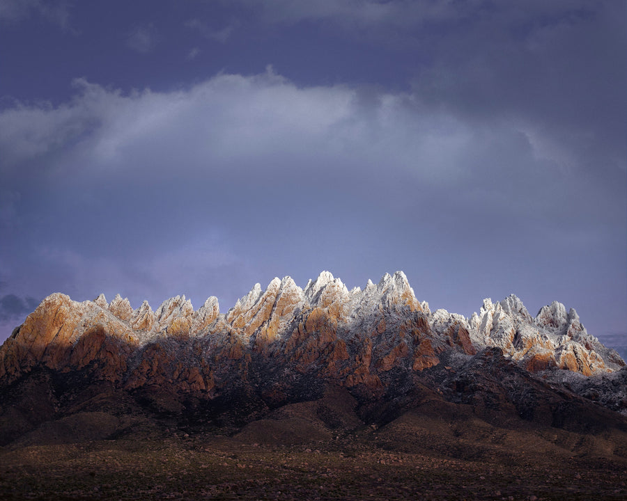 Photography: Snowy Sunset - Organ Mountain Outfitters