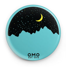 Starry Night Round Button