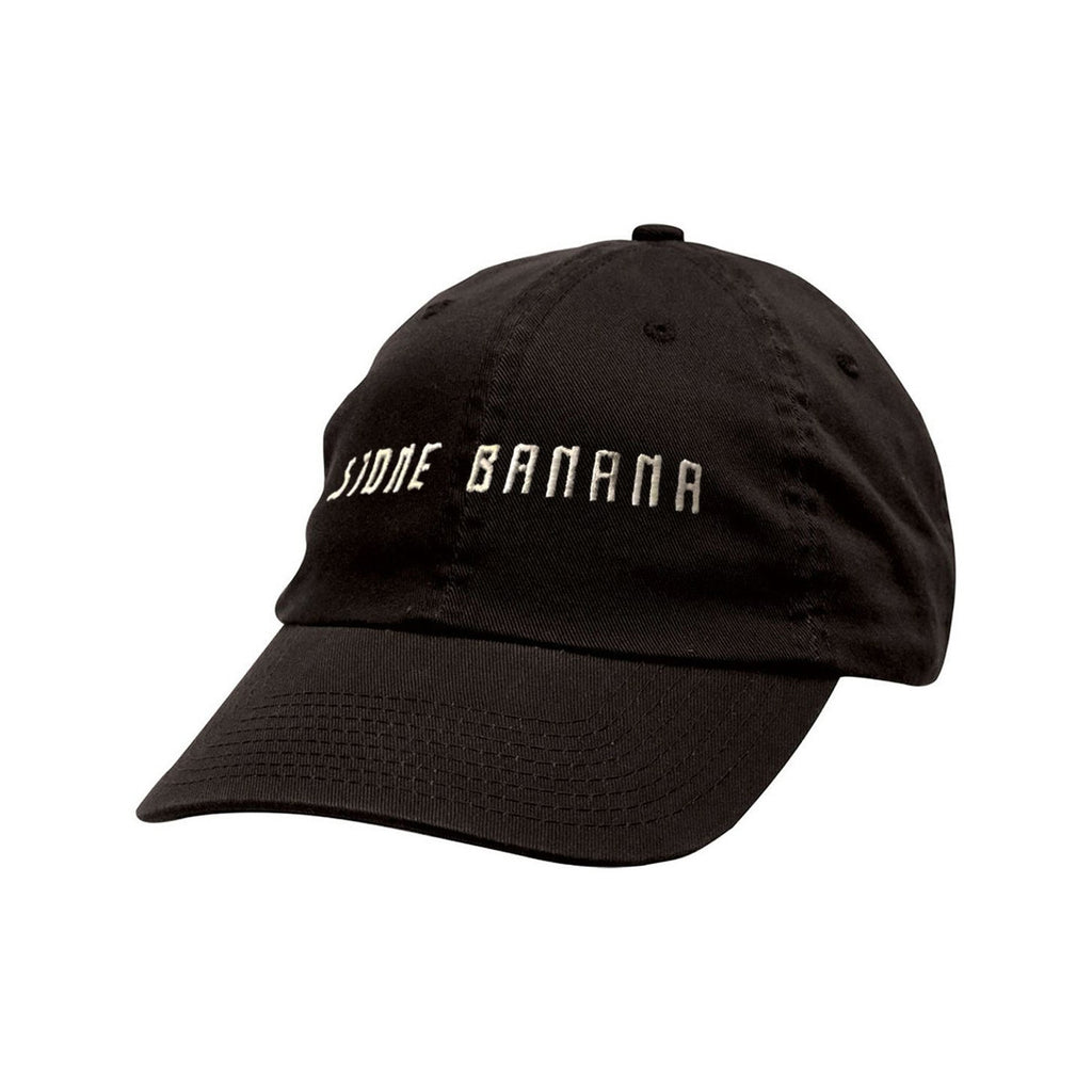 """Stone Banana"" chino ball cap - Black Classic Ball Cap - Stone Banana"