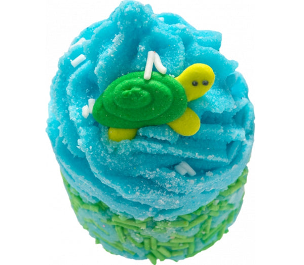 Turtley awesome Mallow kylpymuffini