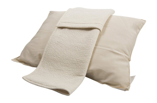 Toddler Pillow – 100% Organic Wool Facebook Special