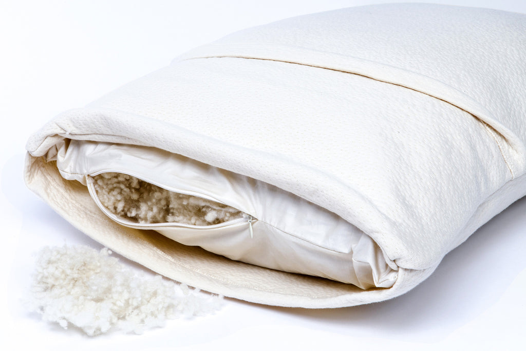 Adult Organic Wool Pillow