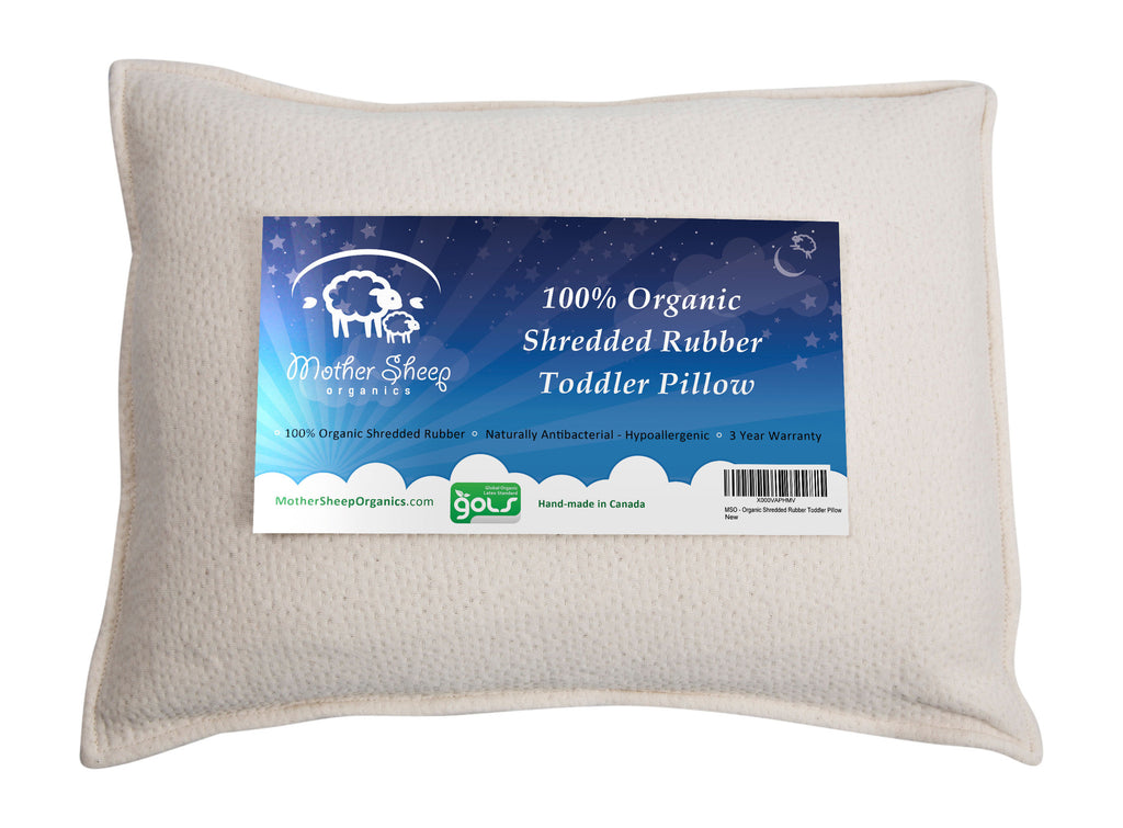 Organic Rubber Toddler Pillow